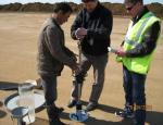 Проверка плотности земляного полотна
