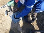 Полевые испытания на уплотнение слоев дорожной одежды и земляного полотна на 9-м участке  Тодини Коструциони Дженерели С.п.А.