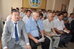 Совещание «О ходе реализации проекта «Западная Европа -Западный Китай» с участием Министра транспорта и коммуникаций Б. Камалиев