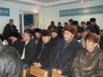 21.01.11. Gathering of owners in Komeshbulak village (Sairam district)
