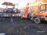 Укладка бетонного покрытия (сентябрь 2011)