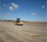 Compaction of subbase