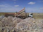 SP 202+00(left).  Procurement of quarry rock