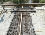 Abutment No. 2 Reinforcing of expansion joint