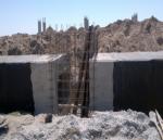PK728+62 culvert (2x1) inspection manhole reinforcing