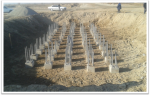 PK 485+73 support #4 Base course for crushed stone pad