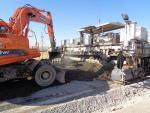 Устройство  цементобетонного покрытия с ПК 757+80  по ПК 769+40 (право)