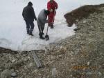 ПК8-ПК306.Работы по очистке оголовков водопропускных труб от снега