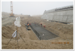 PK 852+45 support #3 Pile cap reinforcement