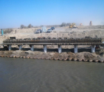 Bridge works over Shu river KCC – Project 4