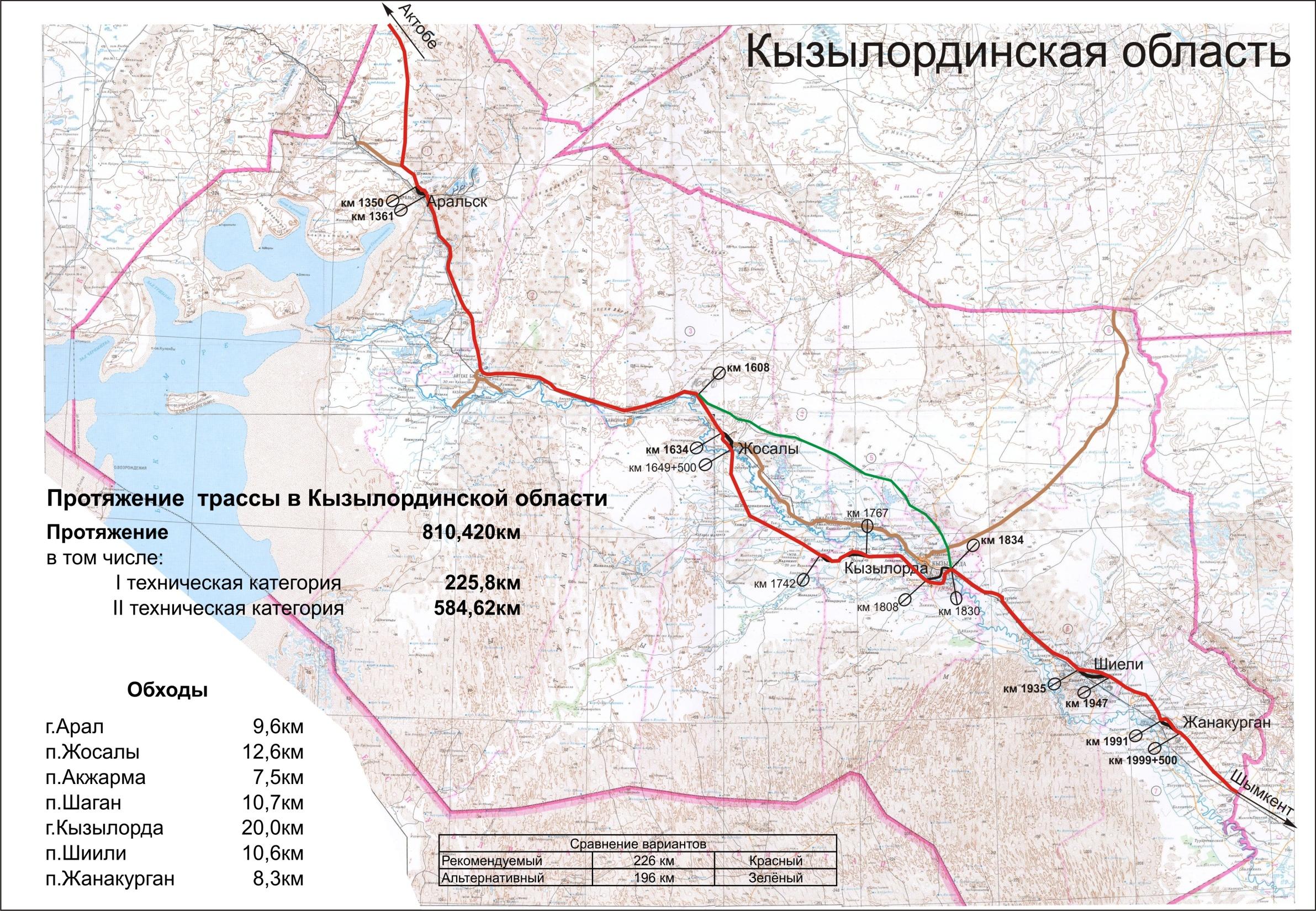 Kyzylorda region   Западная Европа - Западный Китай Международный ...